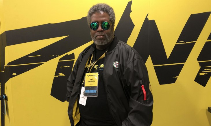 Mike Pondsmith at E3 2019 talking Cyberpunk 2077