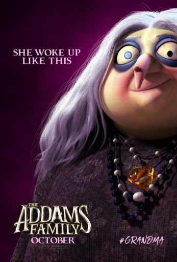 Grandma-Addams-Family-Character-Poster