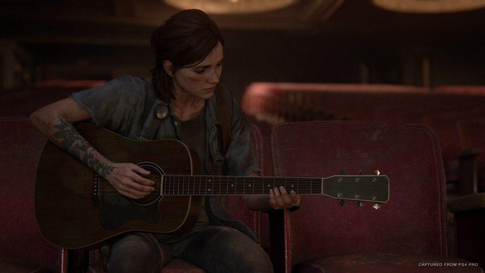Ellie the last of us 2 guitar