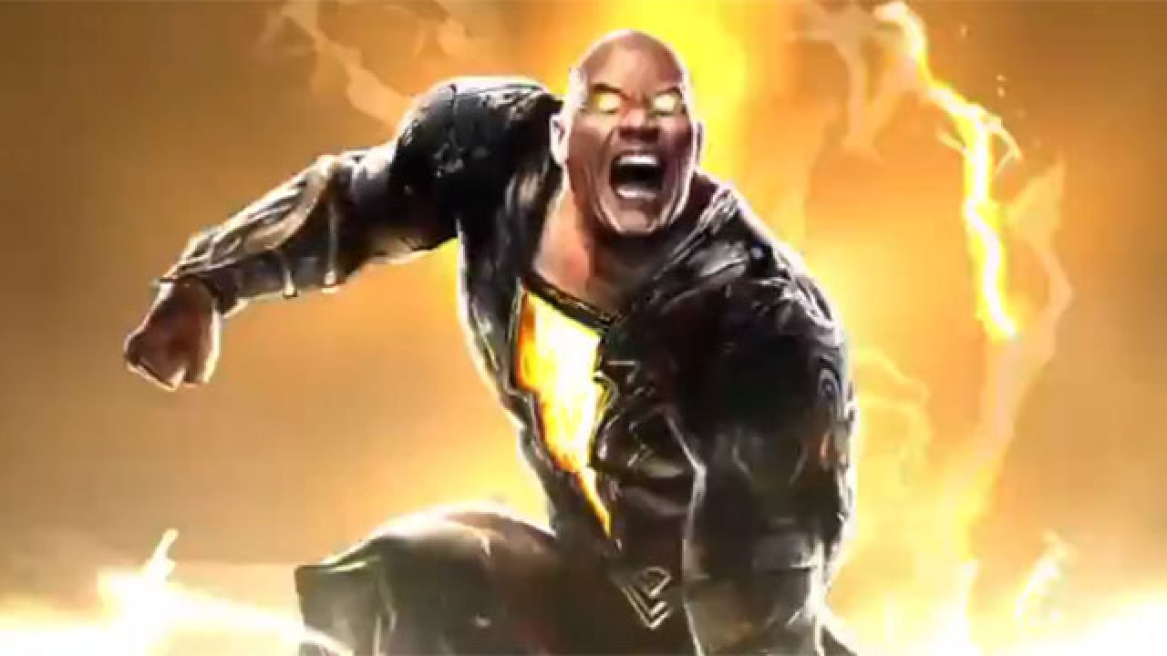 Dwayne Johnson Black Adam