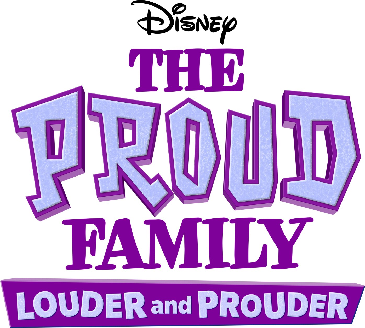 THE PROUD FAMILY: LOUDER AND PROUDER - Logo. (Disney+)