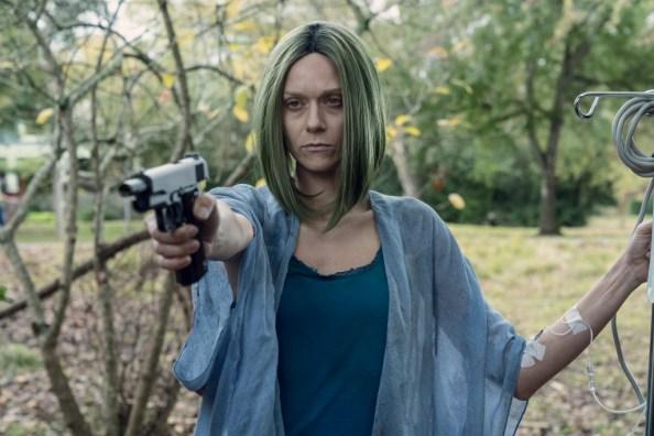 Hilarie Burton Morgan as Lucille - The Walking Dead _ Season 10 - Photo Credit: Josh Stringer/AMC