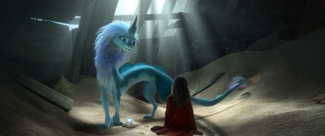 RAYA AND THE LAST DRAGON - Sisu is a magical, mythical, self-deprecating dragon. © 2020 Disney. All Rights Reserved.