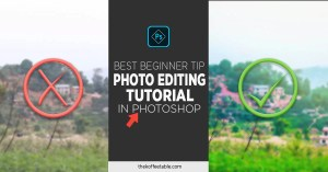 Read more about the article Photo Editing Tutorial in Photoshop