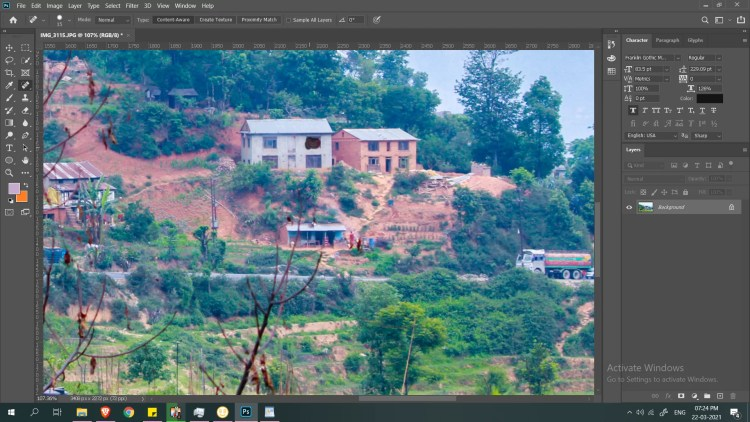 photo editing tutorial for photoshop spothealing thekoffeetable Photo Editing Tutorial in Photoshop