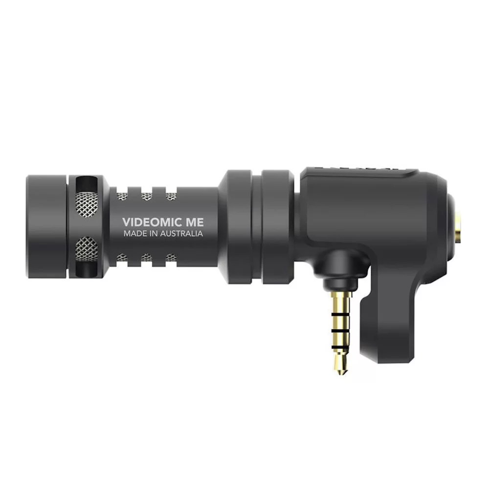 Rode RODE VIDEOMIC ME Camera Accessories 491903514 i 1 thekoffeetable 6 Essential Smartphone Filmmaking Equipment for Vlogging