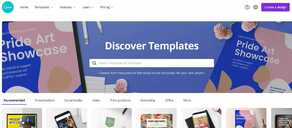 6 best free graphic design templates 2021