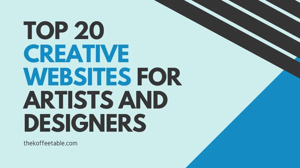 Top 20 Creative Websites for Artists and Designers