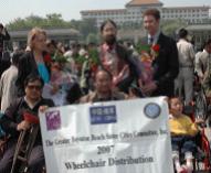 Qufu Wheelchair Donation 2