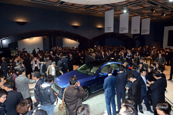 All-New Genesis launch event photo