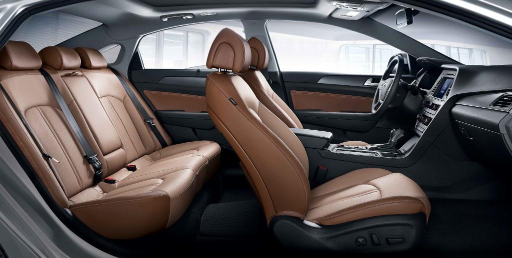 Sonata brown interior