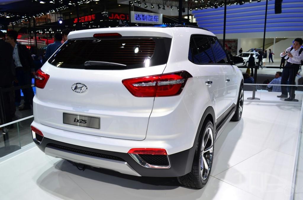 Hyundai Ix25 White At Auto China 2014 1024x677 The Korean Car Blog