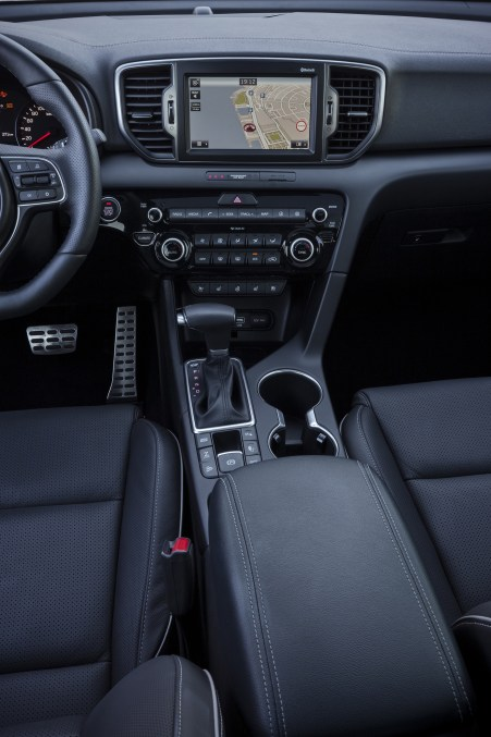 2016 sportage full specs interior revealed (1)