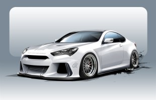 SEMA ARK Performance Genesis Coupe