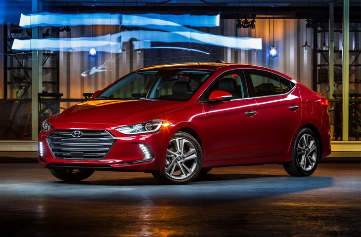 Red 2017 Hyundai Elantra >> All New 2017 Hyundai Elantra The Korean Car Blog