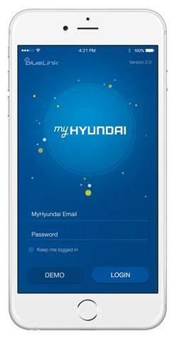 MyHyundai App – Login