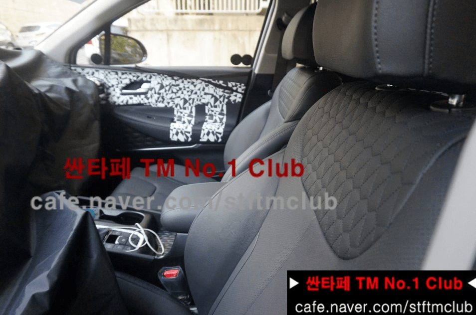 2019 Hyundai Santa Fe Interior The Korean Car Blog