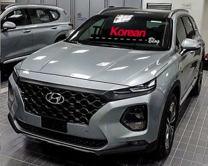 Hyundai Santa Fe spied new angles (1)