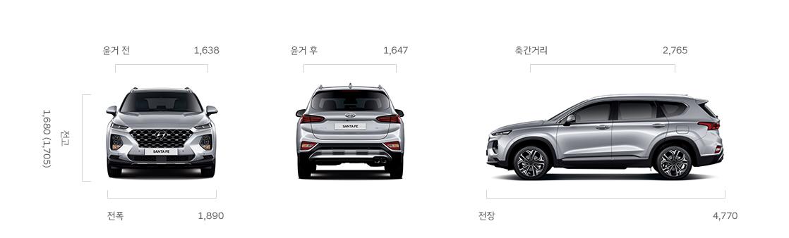 Vehicle Lane Departure Warning >> Hyundai Unveiled The All New 2019 Santa Fe - The Korean Car Blog