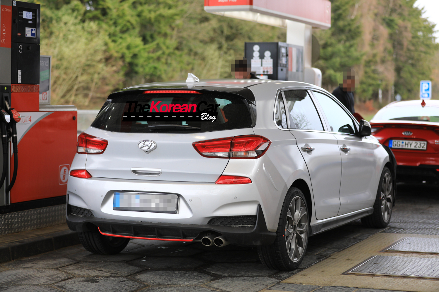 Hyundai Spy Shots >> Hyundai i30 N-line Package Spied - Korean Car Blog
