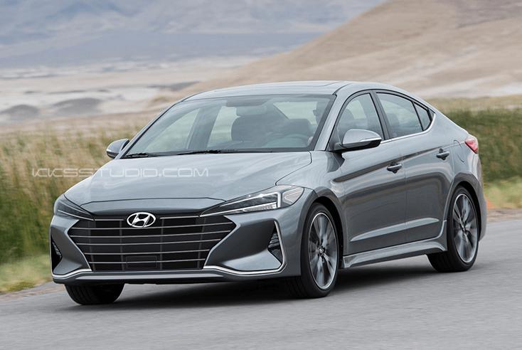 Hyundai Elantra Facelift Rendered - The Korean Car Blog