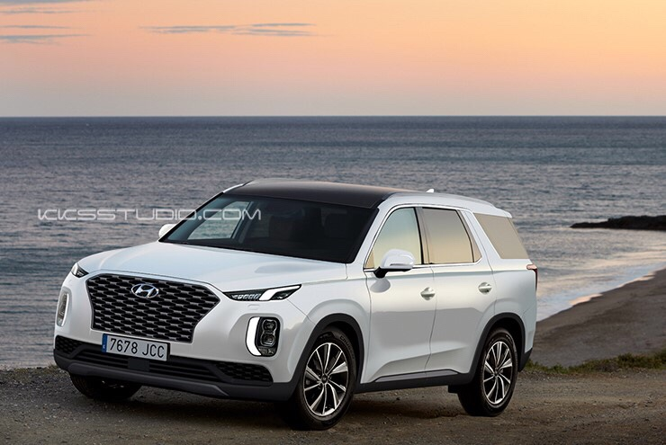 Hyundai Palisade Big Suv Imagined Korean Car Blog