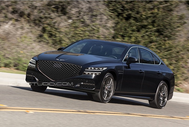 2020 Genesis G80 Imagined Korean Car Blog