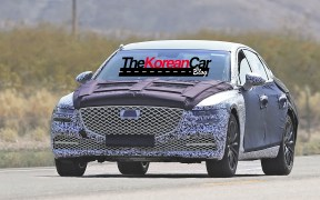 hyundai genesis spied shows front (3)