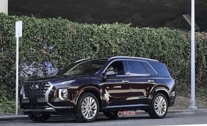2020 Hyundai Palisade Spied Undisguised (2)