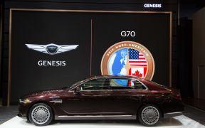 north american spec genesis g90 facelift montreal (1)