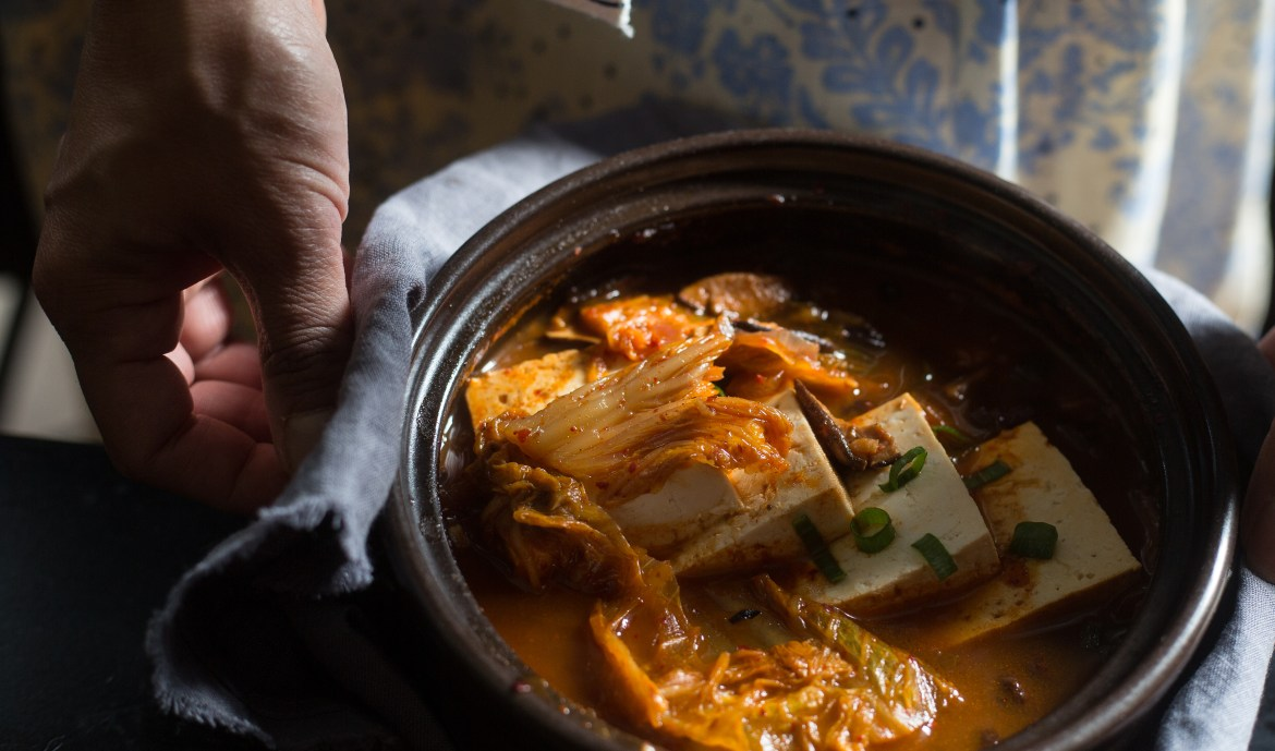 Traditional korean food the korean vegan kimchi chigae is basically like many other korean recipesits aimed at making sure nothing goes to waste like bibimbap its about taking whats in your forumfinder Images