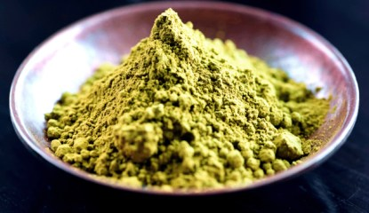 This is Yellow Vein Kratom Powder