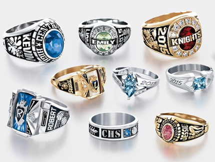 Image result for graduation rings