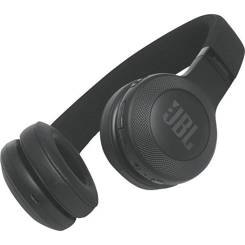 JBL On-Ear Bluetooth Headphones Black – E45BT | Kukoo