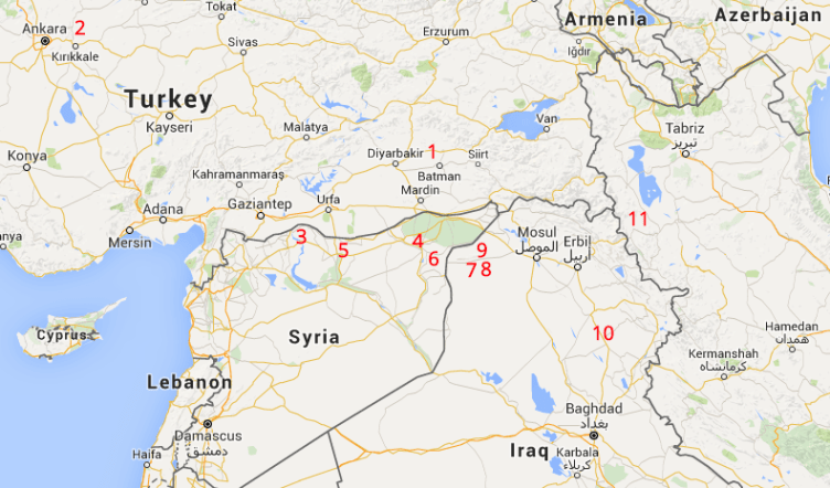 kurdish situation report