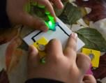 Circuits elèctrics amb pintura conductora