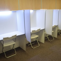 Desk Chair Height Office Side Chairs Lite Lab - Mobile And Removable Sensory Analysis Booth