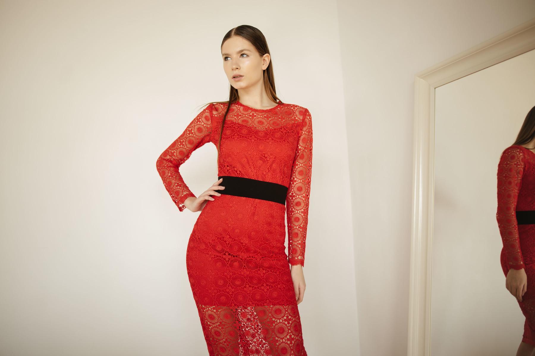 Кружевное платье - THE LACE
