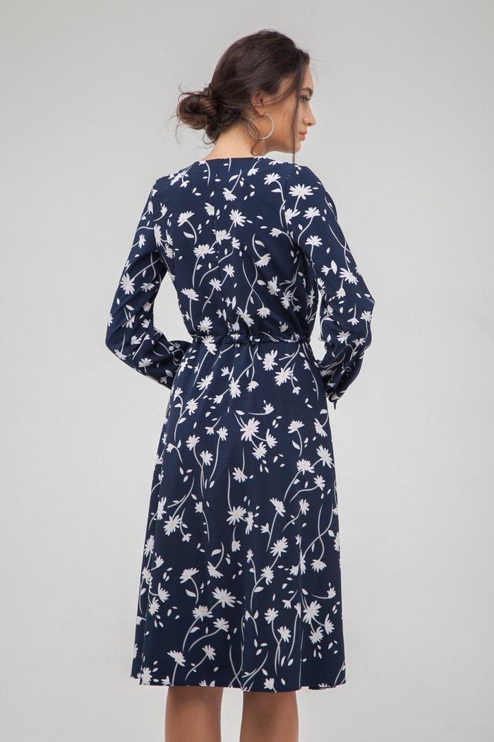 Платье миди на запах Camomile — THE LACE