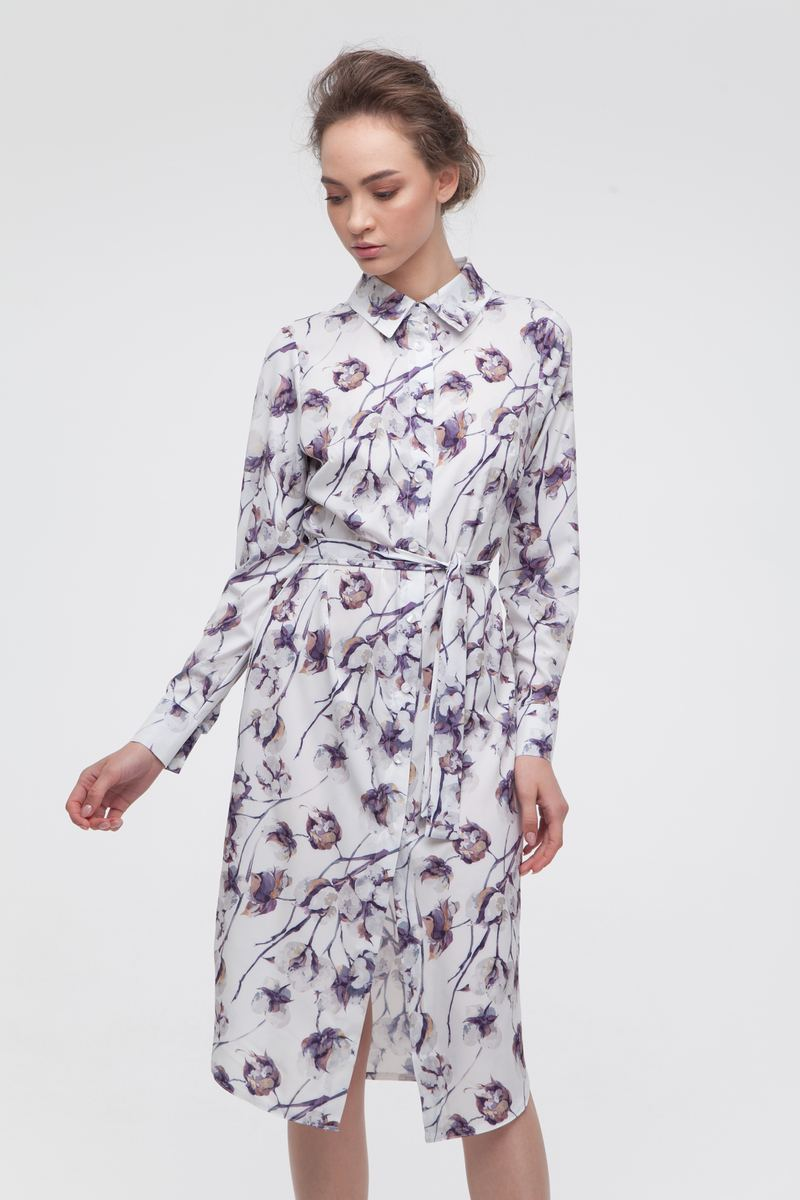 Платье-рубашка Gentle cotton — THE LACE