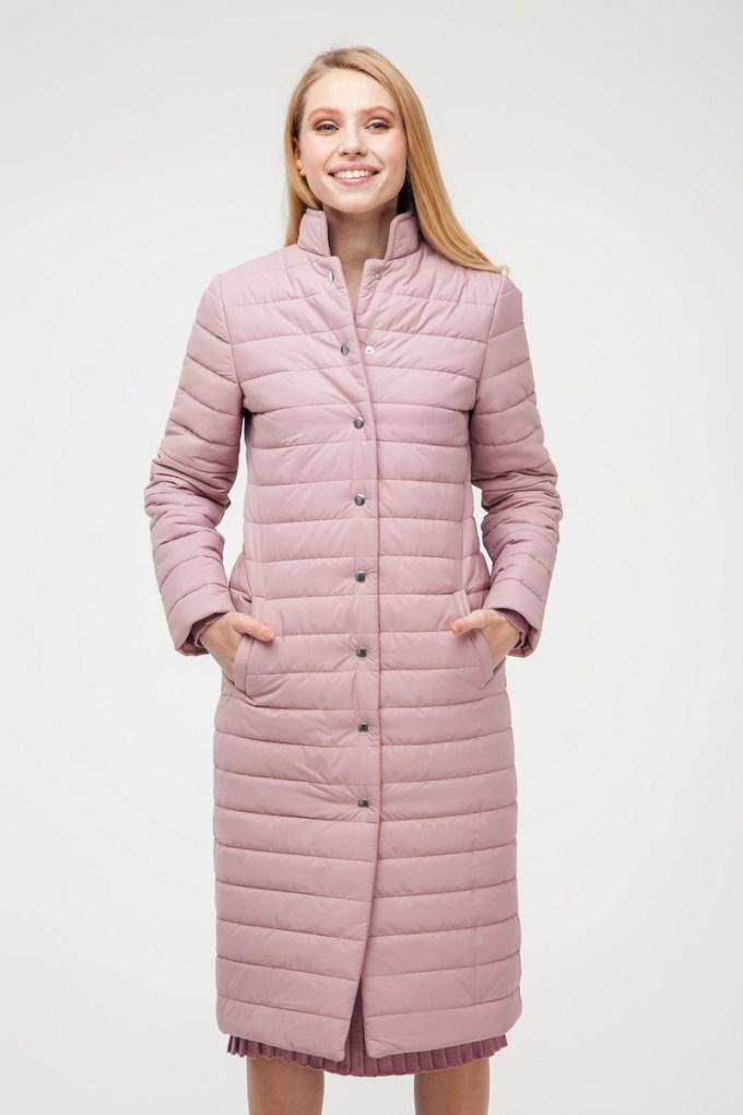 Пальто стеганое чайная роза - THE LACE