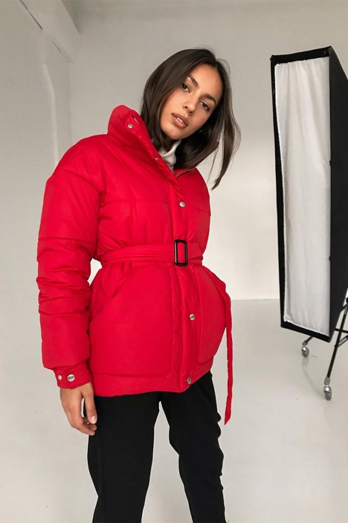 Куртка oversize красная - THE LACE