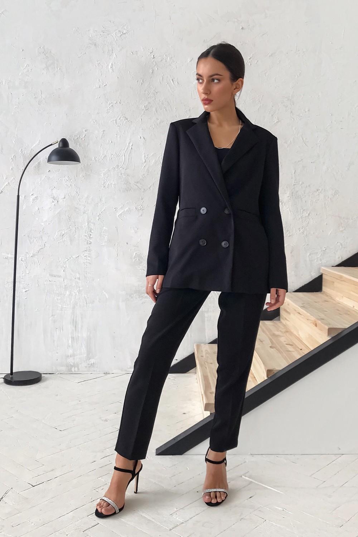 Брючный костюм черный - THE LACE