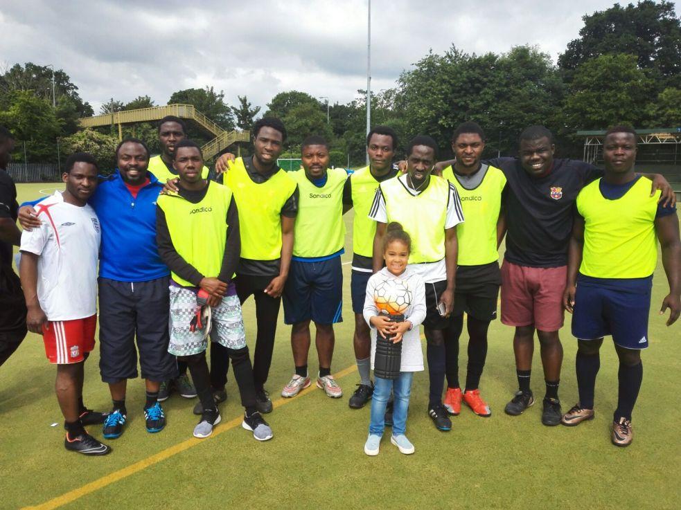 LA Football Academy @ Chester Charity Tournament