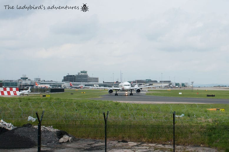 Manchester airport, runway visitors center