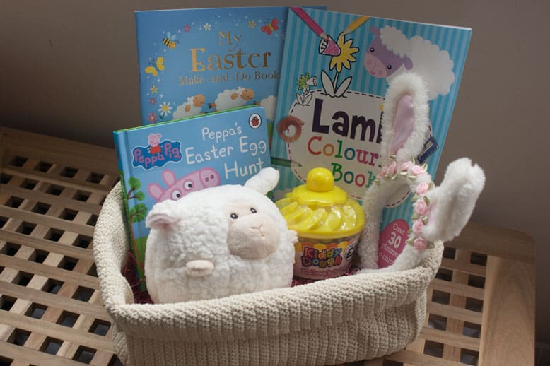 Easter basket ideas for a 3 year old the ladybirds adventures easter basket ideas for a 3 year old negle Image collections