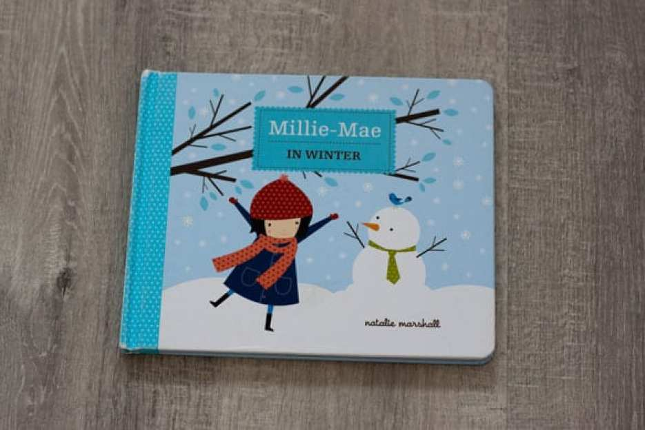 Millie-Mae in winter