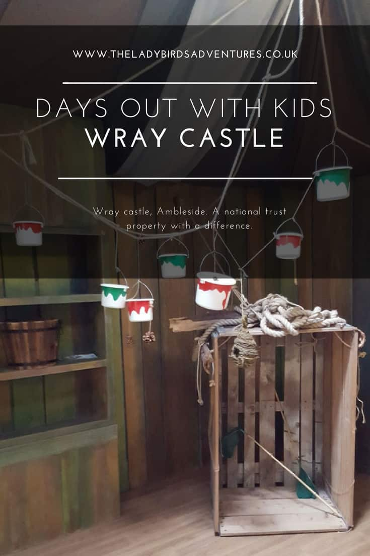 Days out with kids, Wray castle, Ambleside. A National trust property with a difference.