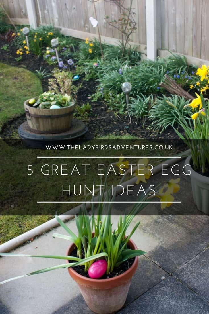 5 great Easter egg hunt ideas