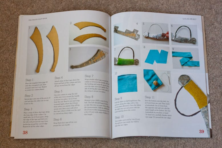 the pirate craft book